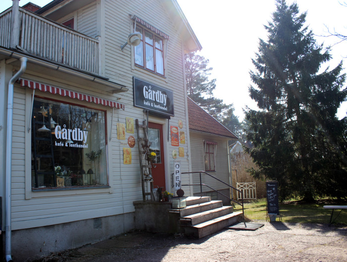 Fika på Öland, här är mitt bästa tips: Gårdby kafé och lanthandel. Mysigt och supergott!
