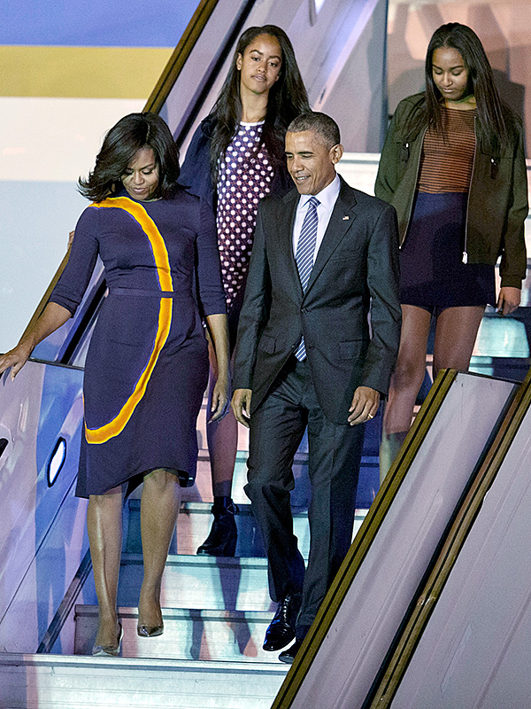 Best dressed this week includes Barack Obama, Michelle Obama, Kendall Jenner, Kate Hudson, Olivia Palermo, Malia Obama and Sasha Obama - go to Nina Campioni at ELLE for the full list
