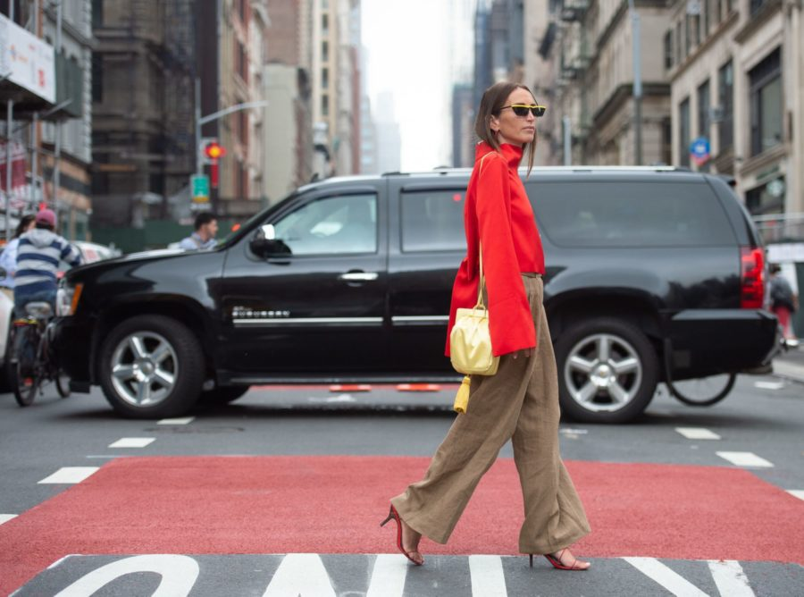 Street style New York Fashion WeekÇ