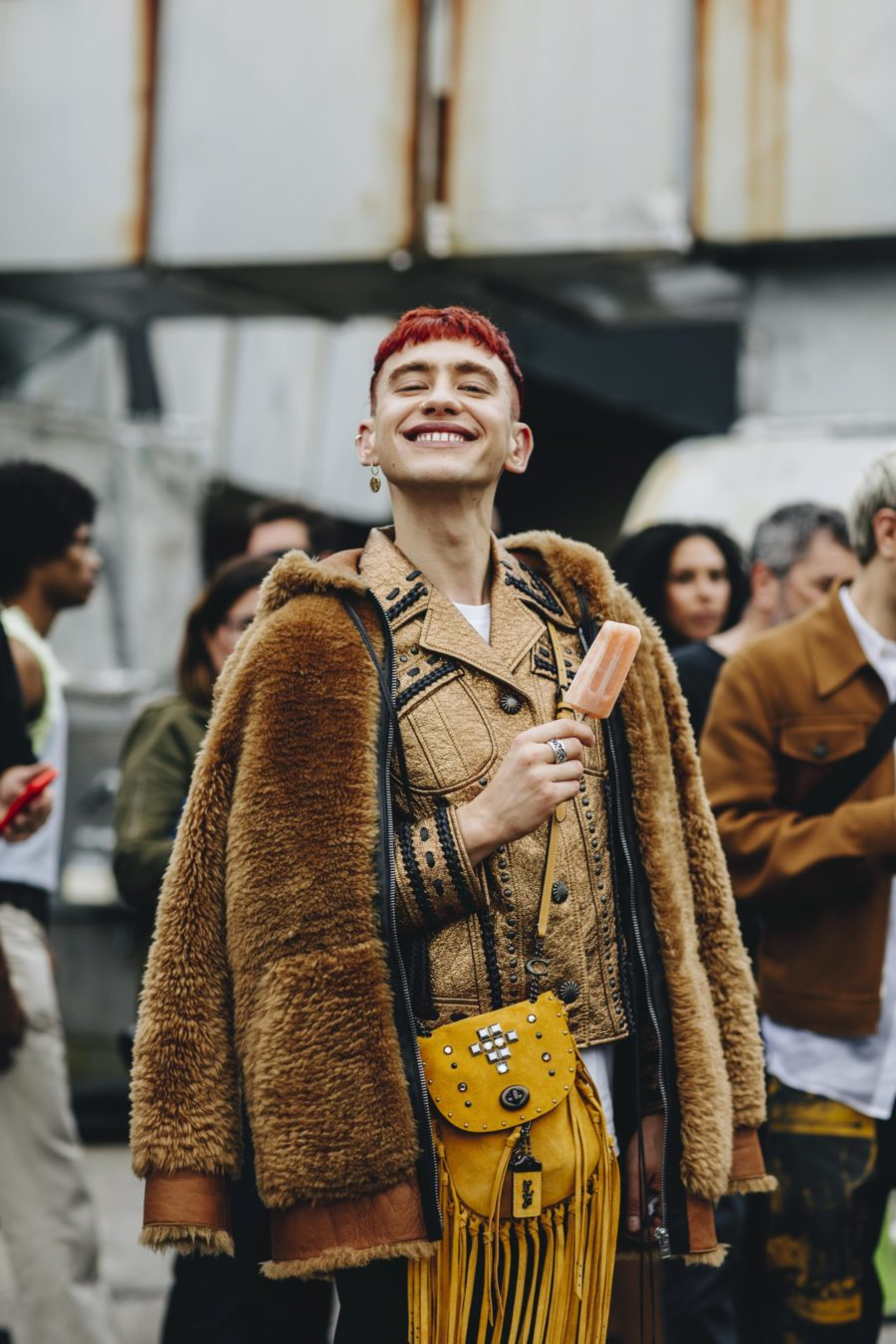 Street style New York Fashion Week