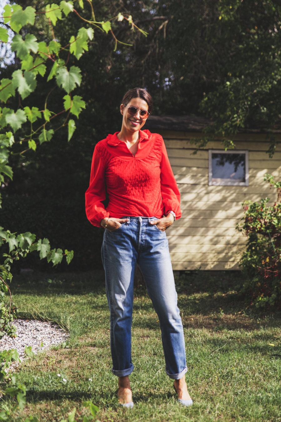 En vintage dagens look av Nina Campioni