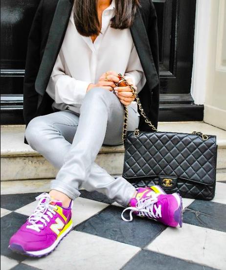 Veckans trend: färgglada sneakers