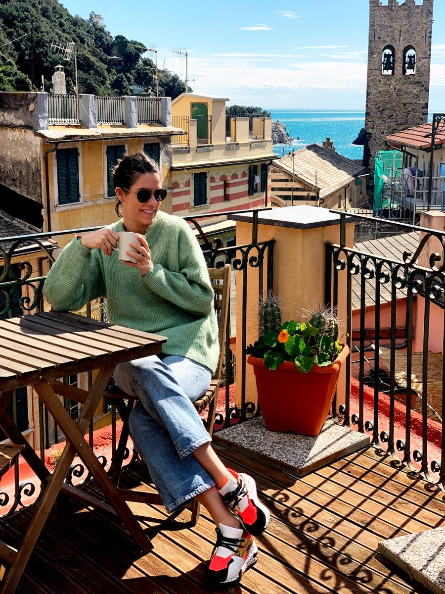 Dagens outfit från Cinque Terre