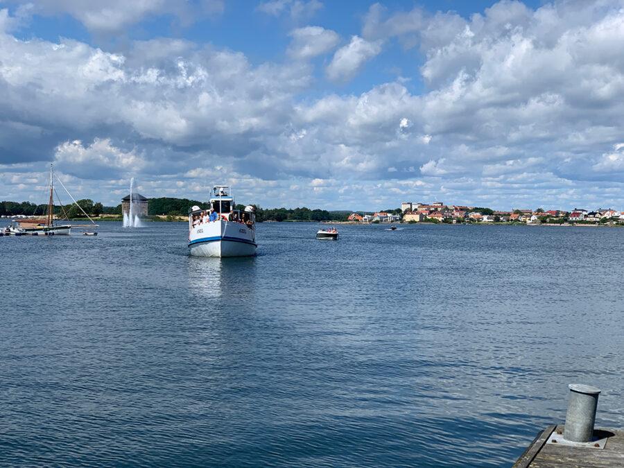 En härlig sommardag i Karlskrona skärgård