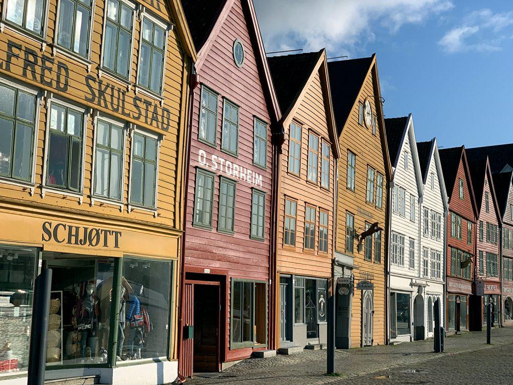 En dag i Bergen Norge